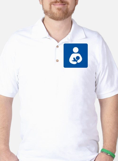 Breastfeeding Symbol [blue] T-Shirt