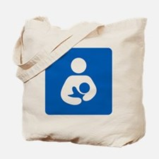 Breastfeeding Symbol [blue] Tote Bag