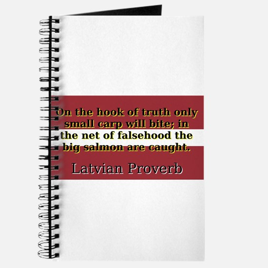 On The Hook Of Truth - Latvian Proverb Journal