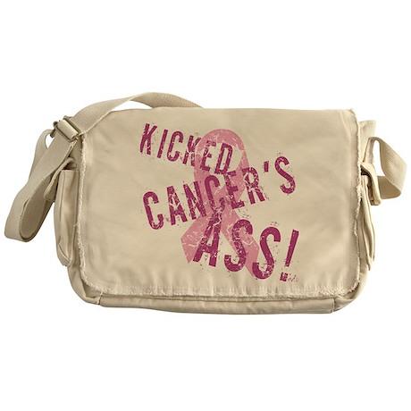 Kicked Cancer's Ass Messenger Bag