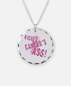 Kicked Cancer's Ass Necklace