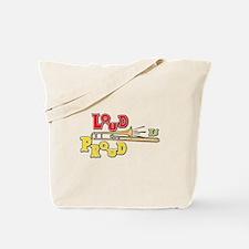 Trombone Loud Tote Bag