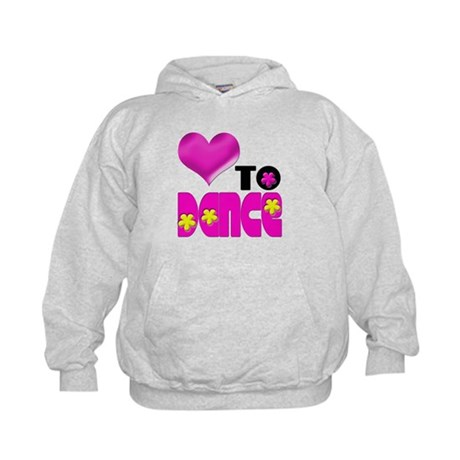 Love to Dance Kids Hoodie