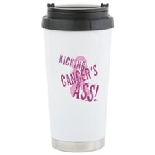 Kicking Cancer's Ass Travel Coffee Mug