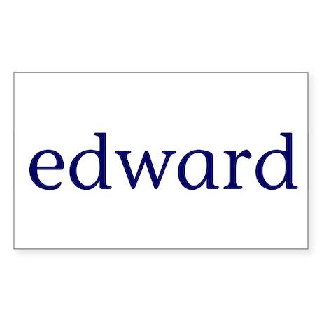 Edward Rectangle Sticker