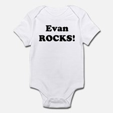 Evan Rocks! Infant Bodysuit