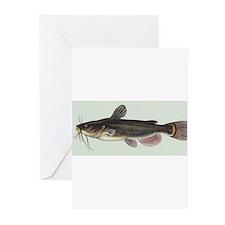 Catfish Greeting Cards