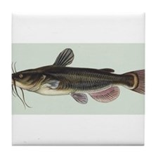 Catfish Tile Coaster
