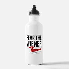 Fear the Wiener Water Bottle