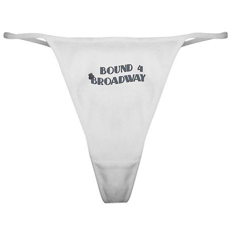Bound 4 Broadway Classic Thong