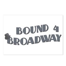 Bound 4 Broadway Postcards (Package of 8)
