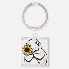 Sunny Manatee Keychains