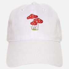 Polka Dot Mushrooms Baseball Baseball Baseball Cap