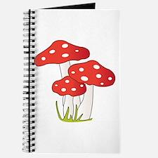 Polka Dot Mushrooms Journal