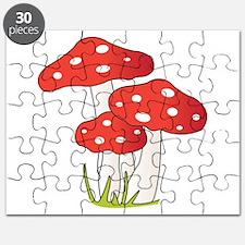 Polka Dot Mushrooms Puzzle