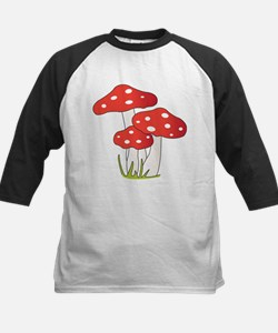 Polka Dot Mushrooms Baseball Jersey