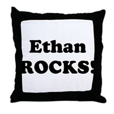 Ethan Rocks! Throw Pillow