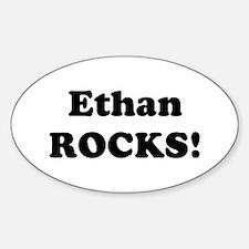 Ethan Rocks! Oval Decal