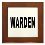 Warden Framed Tile