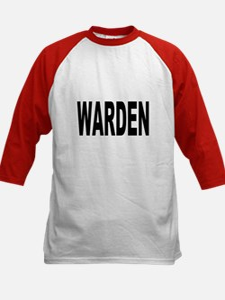 Warden (Front) Kids Baseball Jersey