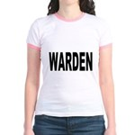 Warden (Front) Jr. Ringer T-Shirt