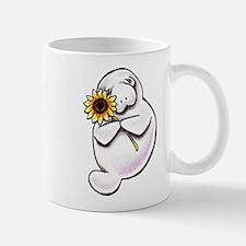 Sunny Manatee Mugs