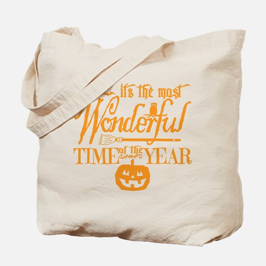 Most Wonderful (orange) Tote Bag