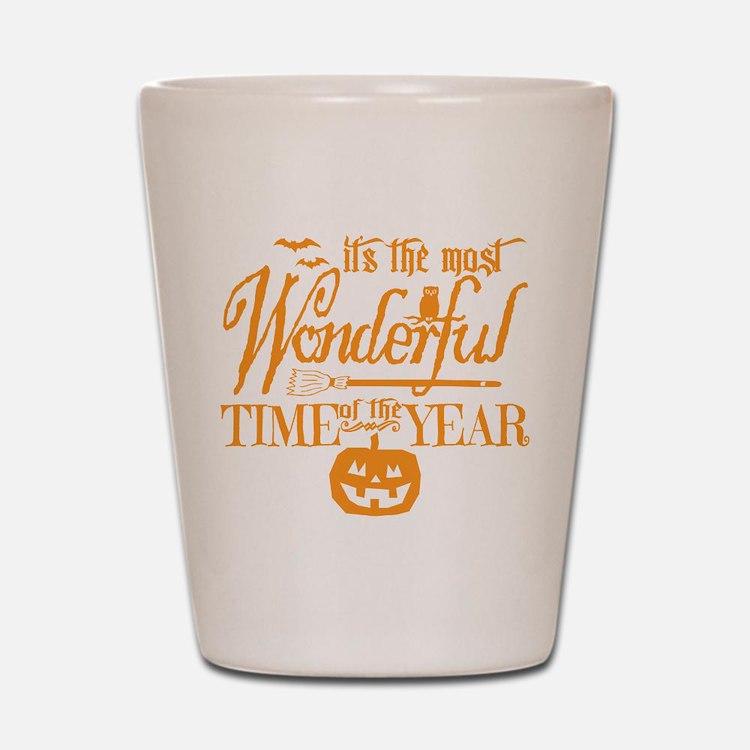 Most Wonderful (orange) Shot Glass