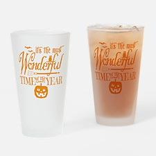 Most Wonderful (orange) Drinking Glass