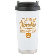 Most Wonderful (orange) Travel Mug