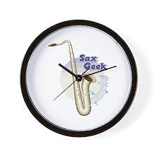 Saxophone -Band Instrument Wall Clock