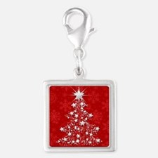 Sparkling Red Christmas Tree Charms