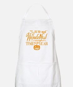 Most Wonderful (orange) Apron