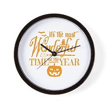 Most Wonderful (orange) Wall Clock