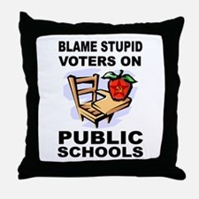 SOCIALIST TEACHERS Throw Pillow