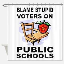 SOCIALIST TEACHERS Shower Curtain