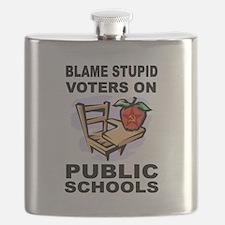 SOCIALIST TEACHERS Flask