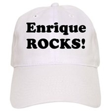 Enrique Rocks! Baseball Cap
