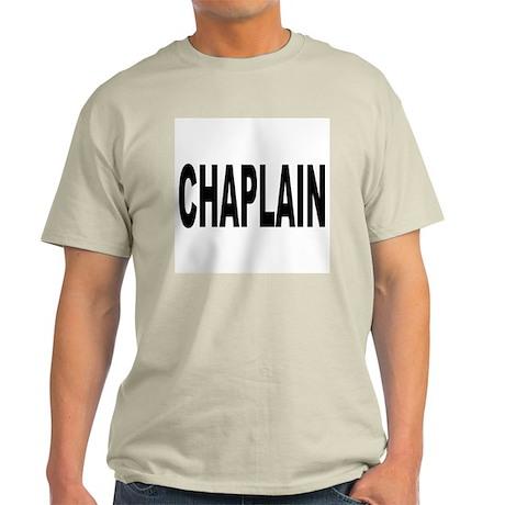 Chaplain Ash Grey T-Shirt
