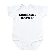 Emmanuel Rocks! Infant Bodysuit