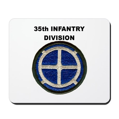 35TH INFANTRY DIVISION Mousepad