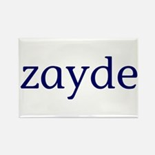 Zayde Rectangle Magnet
