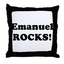 Emanuel Rocks! Throw Pillow