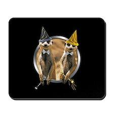 Meerkat New Year Mousepad