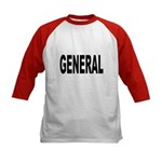 General (Front) Kids Baseball Jersey
