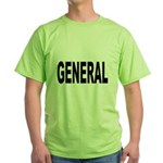 General (Front) Green T-Shirt
