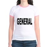 General (Front) Jr. Ringer T-Shirt