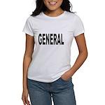 General (Front) Women's T-Shirt