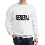 General (Front) Sweatshirt