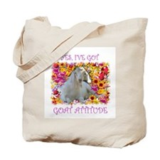 Goat Attitude! Tote Bag